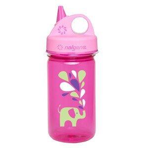 Dětská lahev Nalgene Grip 'n Gulp Barva: světle růžová