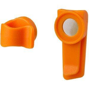 Sponka Source Magnetic clip Barva: orange