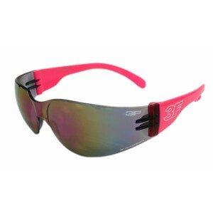 Dětské brýle 3F Mono jr. Kategorie slunečního filtru (CAT.): 3 / Barva obrouček: černá/růžová