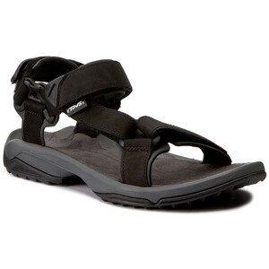 Pánské sandály Teva Terra Fi Lite Leather Velikost bot (EU): 45,5 (12) / Barva: černá