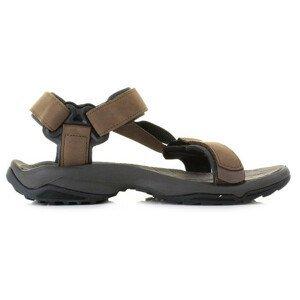 Pánské sandály Teva Terra Fi Lite Leather Velikost bot (EU): 48,5 / Barva: hnědá