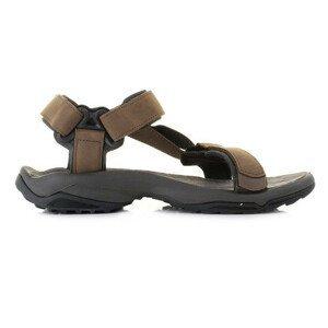 Pánské sandály Teva Terra Fi Lite Leather Velikost bot (EU): 42 / Barva: hnědá