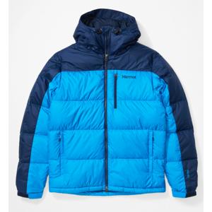 Pánská bunda Marmot Guides Down Hoody Velikost: S / Barva: tmavě modrá