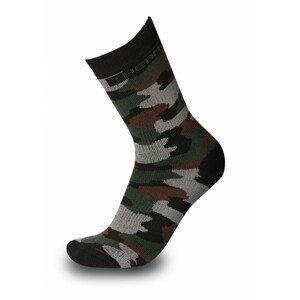 Ponožky Sherpax Bihor Velikost ponožek: 39-42 / Barva: maskáč