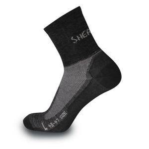 Ponožky Sherpax Solo Velikost ponožek: 43-47 / Barva: šedá