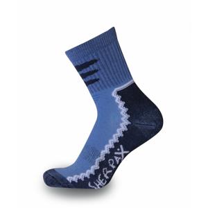 Dětské ponožky Sherpax Laudo light modré Velikost ponožek: 30-34 / Barva: modrá