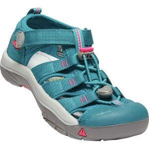 Dětské sandály Keen Newport H2 K Dětské velikosti bot: 27/28 / Barva: modrá/růžová