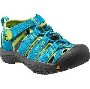 Dětské sandály Keen Newport H2 K Dětské velikosti bot: 31 (13) / Barva: hawaiian blue/green glow