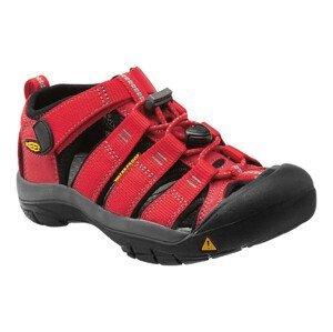 Juniorské sandály Keen Newport H2 JR Dětské velikosti bot: 37 (5) / Barva: ribbon red/gargoyle