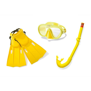 Potápěčská sada Intex Master Class Swim Set 55655 Barva: žlutá
