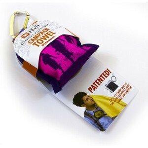 Ručník N-Rit Campack Towel L Barva: světle růžová