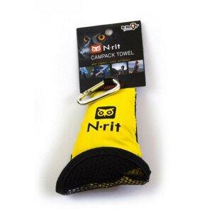 Ručník N-Rit Campack Towel L Barva: žlutá