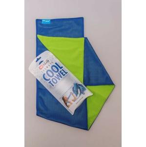 Chladivý Šátek N-Rit Cool Towel Twin Barva: žlutá/modrá
