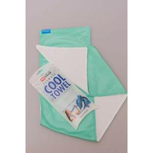 Chladivý Šátek N-Rit Cool Towel Twin Barva: bílá/zelená