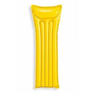 Nafukovací lehátko Intex Economats 59703EU Barva: žlutá