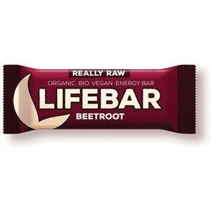 Lifefood Tyčinka Lifebar Červená Řepa BIO 47g