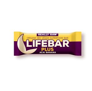 Tyčinka Lifefood Plus Acai Banánová RAW BIO 47