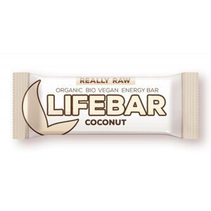 Lifefood Tyčinka Lifebar Kokosová RAW BIO 47 g