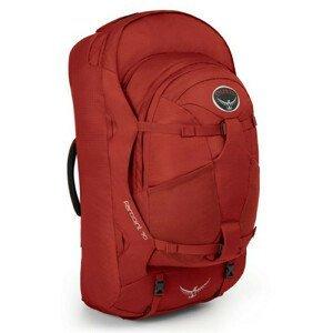 Batoh Osprey Farpoint 70 Velikost zad batohu: S/M / Barva: červená