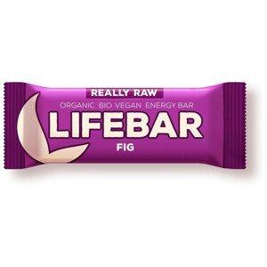 Tyčinka Lifefood Lifebar fíková BIO RAW 47 g
