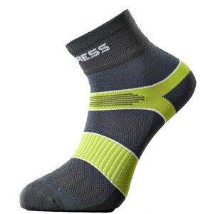 Ponožky Progress Cycling 8CE Cycling Velikost ponožek: 43-46 (9-12) / Barva: šedá/světle zelená