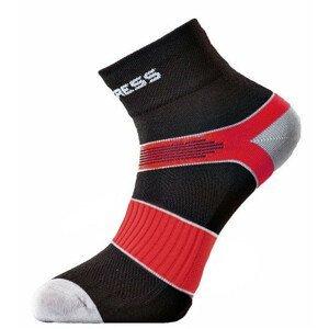 Ponožky Progress Cycling 8CE Cycling Velikost ponožek: 39-42 (6-8) / Barva: černá/červená