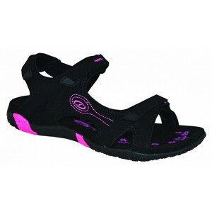 Dámské sandály Loap Caffa Velikost bot (EU): 36 / Barva: černá/růžová