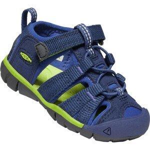 Dětské sandály Keen Seacamp II CNX INF Dětské velikosti bot: 20/21 / Barva: tmavě modrá