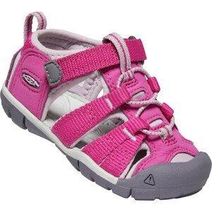 Dětské sandály Keen Seacamp II CNX INF Dětské velikosti bot: 22 / Barva: světle růžová