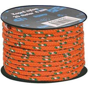 Šňůra Bo-Camp Nylon Guy Rope 20 m 4 mm Barva: oranžová