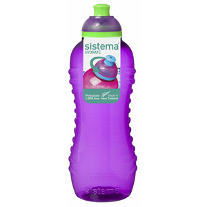 Láhev Sistema Squeeze Bottle 460ml Barva: fialová