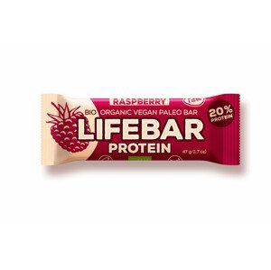 Lifefood Tyčinka Lifebar Protein Malinová RAW BIO 47 g