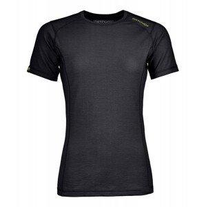 Dámské funkční triko Ortovox 145 Ultra W krátký rukáv Velikost: XS / Barva: černá