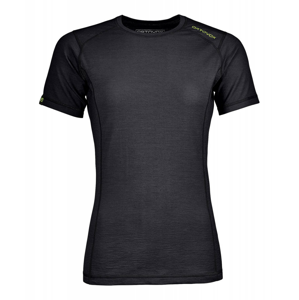 Dámské funkční triko Ortovox 145 Ultra W krátký rukáv Velikost: L / Barva: černá