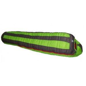 Spacák Sir Joseph Looping II 1200 190 cm Zip: Levý / Barva: zelená