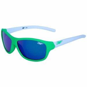Dětské brýle 3F Rubber 7 1729 Barva obrouček: zelená/bílá
