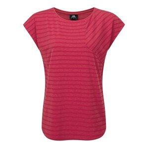 Dámské triko Mountain Equipment W's Silhouette Tee Velikost: S (10) / Barva: růžová