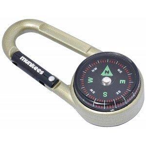 Klíčenka Munkees karabina s kompasem a teploměr Barva: béžová