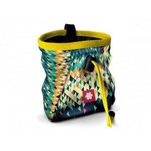 Pytlík na magnézium Ocún Lucky + pásek Ocún Chalk Bag Belt Barva: modrá/žlutá