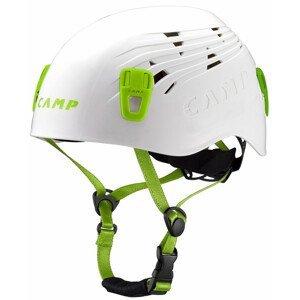 Lezecká přilba Camp Titan Velikost helmy: 48-56 / Barva: bílá/zelená