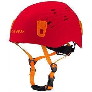 Lezecká helma Camp Titan Velikost helmy: 54-62 / Barva: červená/oranžová