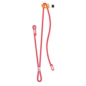 Dvojitá odsedávací smyčka Petzl Dual Connect Adjust Barva: červená