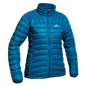 Dámská péřová bunda Warmpeace Swing Velikost: L / Barva: modrá