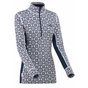 Dámské funkční triko Kari Traa Rose H/Z Velikost: XL / Barva: šedá/modrá