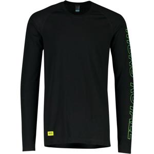Pánské funkční triko Mons Royale Temple Tech LS Velikost: M / Barva: černá