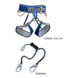 Ferratový set Rock Empire Dynamax Streak Set Velikost: S-XL / Barva: modrá