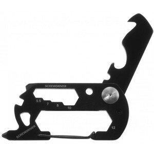 Munkees multifunkční klíč s karabinou Barva: černá