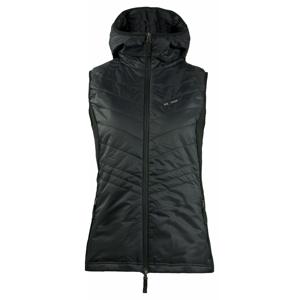 Dámské vesta s kapucí Skhoop Mona Velikost: L (40) / Barva: černá