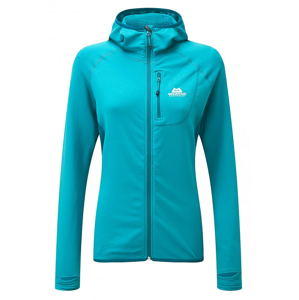 Dámská mikina Mountain Equipment W's Eclipse Hooded Jacket Velikost: M (12) / Barva: modrá