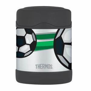 Termoska na jídlo Thermos Funtainer 290 ml Barva: černá